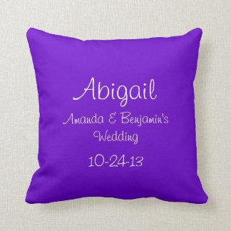 Personalized Junior Bridesmaid Cushion
