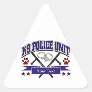 Personalized K9 Police Unit Sticker
