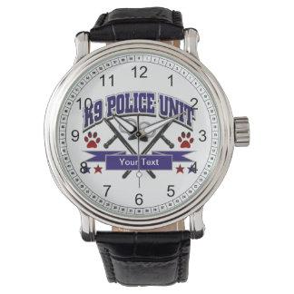 Personalized K9 Police Unit Watch