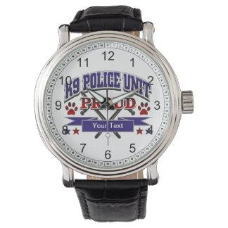Personalized K9 Unit Proud Watch