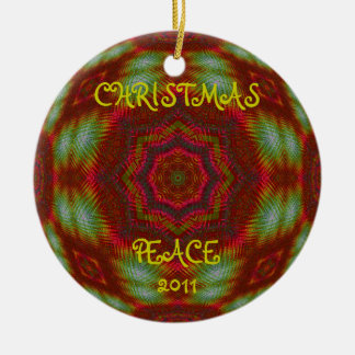Personalized Kaleidoscopic Fractal Ornament.2 Christmas Ornament