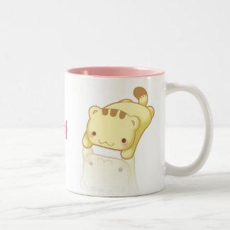 Personalized Kawaii Flop Cat Mug