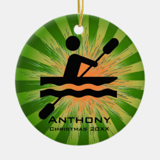 Personalized Kayaking Ornament