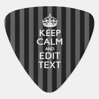 Personalized KEEP CALM AND Edit Text Pick