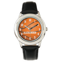 Personalized Kids Basketball Watch