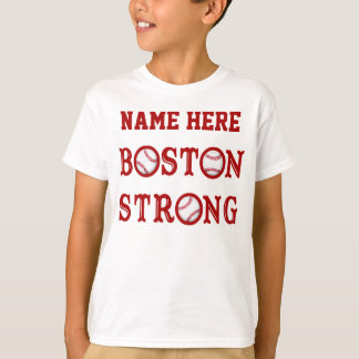 Personalized Kids Boston Strong Shirts and Family