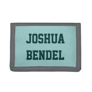 Personalized Kids Boys Wallet
