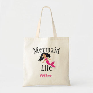Personalized Kids Mermaid Life Tote