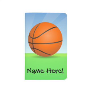 Personalized Kid's Sports Basketball Sunny Day Journal