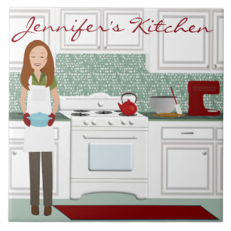 Personalized Kitchen Cook Tile