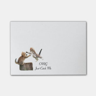 Personalized Kitten Post-It-Notes Post-it Notes