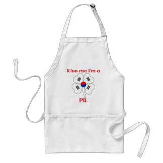 Personalized Korean Kiss Me I m Pil Aprons
