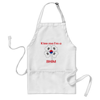 Personalized Korean Kiss Me I m Shim Apron