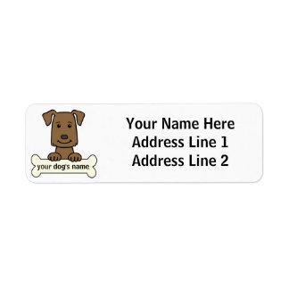 Personalized Labrador Retriever