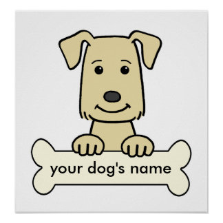 Personalized Labrador Retriever Poster