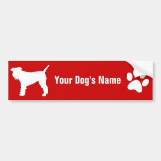 Personalized Lakeland Terrier レークランド・テリア Bumper Sticker