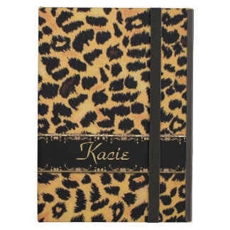 Personalized Leopard Animal Print iPad Air Case
