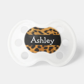 Personalized Leopard Pacifier
