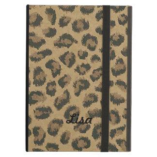 Personalized Leopard Skin iPad Case