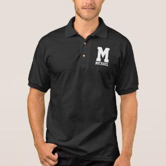 Personalized Letterman Monogram Polo Shirt