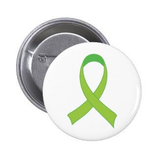 Personalized Lime Green Awareness Gift 6 Cm Round Badge