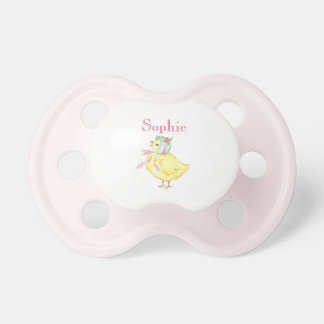 Personalized Little Chick Pacifier