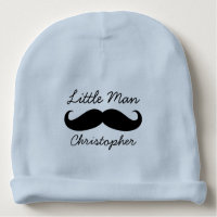 Personalized Mustache Beanie