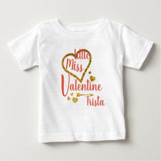 Personalized Little Miss Valentine Shirt