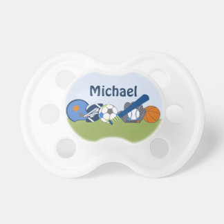 Personalized Little Sports Player Pacifier