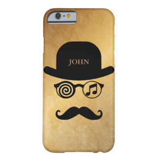Personalized Londoner Mustaches Loves Music Case
