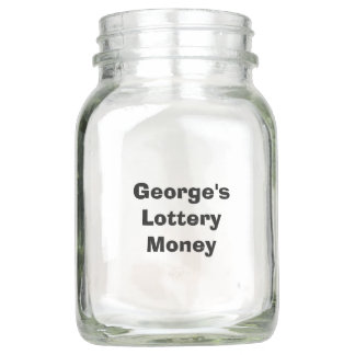 "Personalized ""Lottery Money"" Jar"