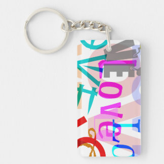 Personalized LOVE Keychain