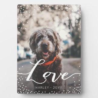 Personalized Love Plaque
