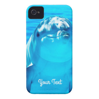 Personalized Lovely Dolphin Underwater Sea Life iPhone 4 Covers