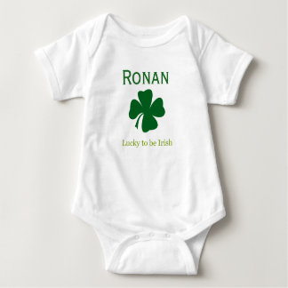 Personalized Lucky to be Irish Baby Body Suit Gift Baby Bodysuit