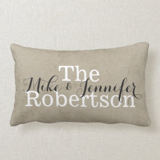 Personalized Lumbar Pillow