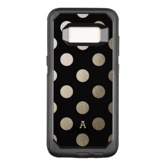 Personalized | Luxe Dots OtterBox Commuter Samsung Galaxy S8 Case