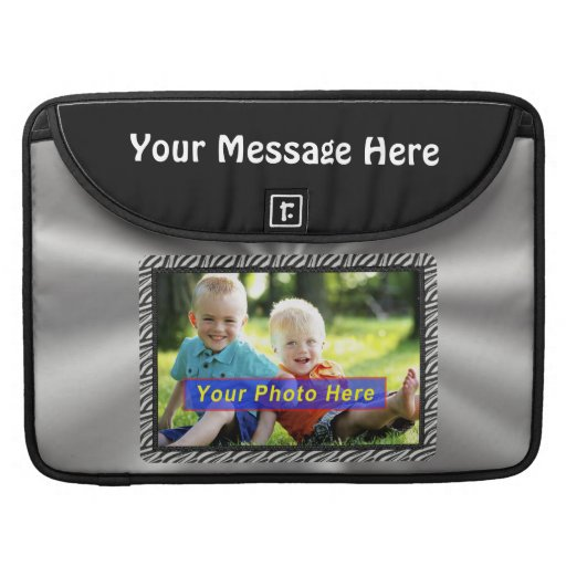 Personalized Macbook Pro Cases YOUR TWO PHOTOS MacBook Pro Sleeve
