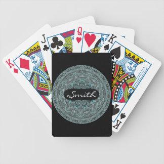 Personalized Mandala Bicycle Playing Cards
