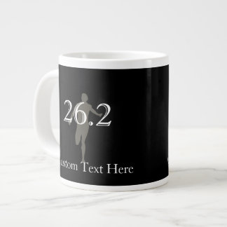 Personalized Marathon Runner 26.2 Keepsake Giant Coffee Mug
