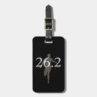 Personalized Marathon Runner 26.2 Keepsake Tags For Luggage