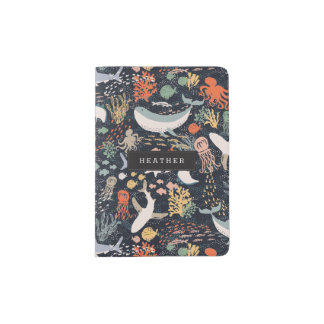 Personalized | Marine Life Passport Holder