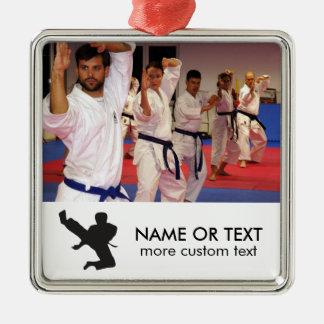 Personalized Martial Arts Karate Photo Christmas Christmas Ornament