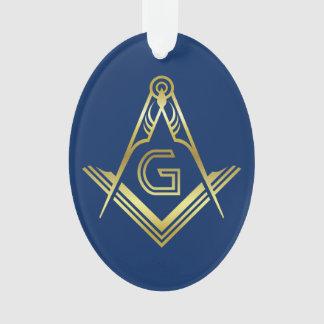 Personalized Masonic Christmas Ornaments