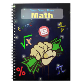 Personalized Math NoteBook