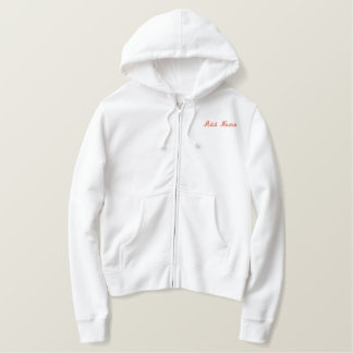 Personalized Matron of Honor Embroidery Hoodie