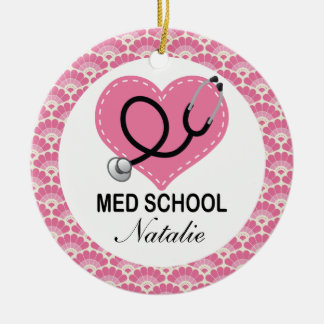 Personalized Medical School Graduate Ornament