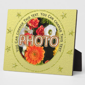 Personalized Memorial Photo Plaques