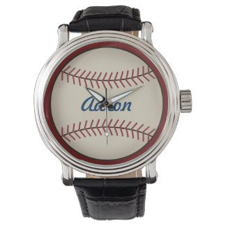 Personalized Men's Baseball Watch Gift