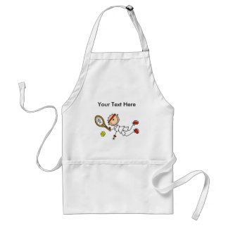 Personalized Men's Tennis Gifts Adult Apron